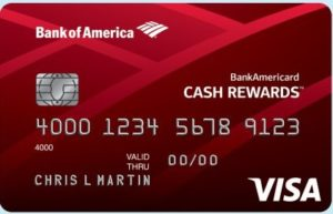 Bank of America Cash Rewards Card for Students